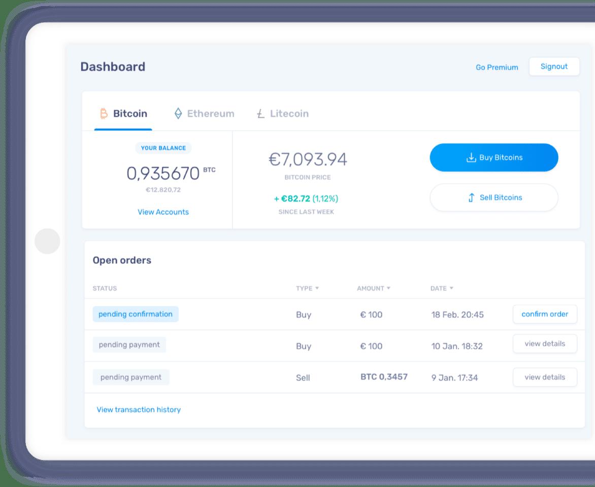 buy and transfer bitcoin