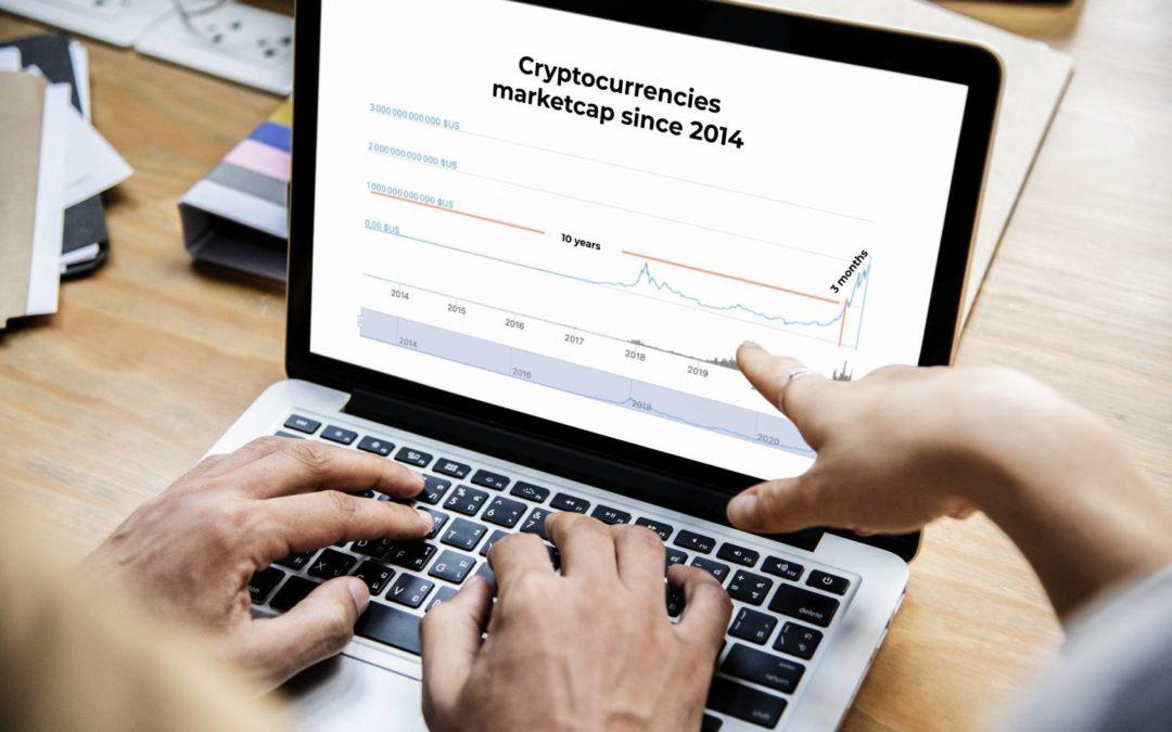 Crypto market : 10 years to reach $1 trillion, 3 months to reach $2 trillion!